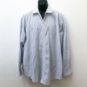 Kenneth Cole Reaction Wrinkle Free Dress Shirt XL
